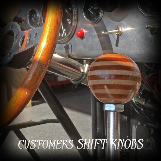 cars with wood shift knobs
