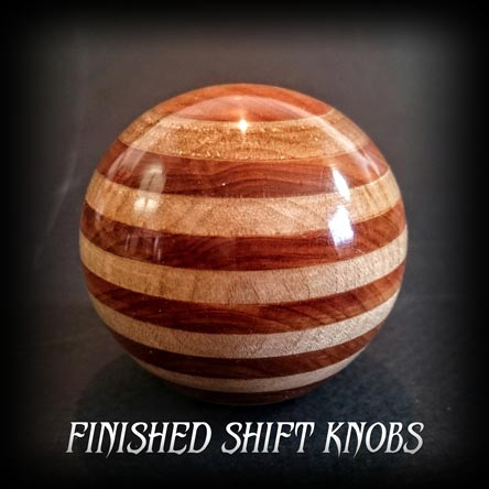Custom wood shift knobs gallery